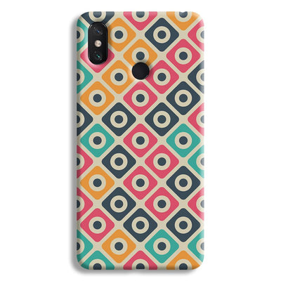 Shapes Pattern Mi Max 3 Case