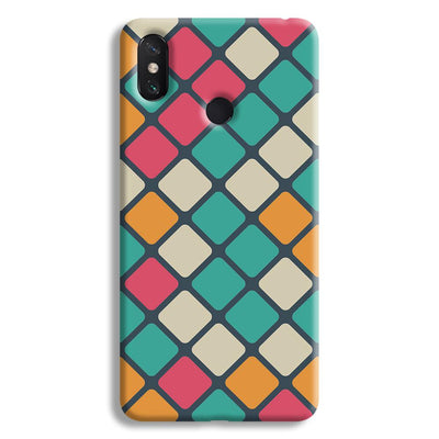 Colorful Tiles Pattern Mi Max 3 Case