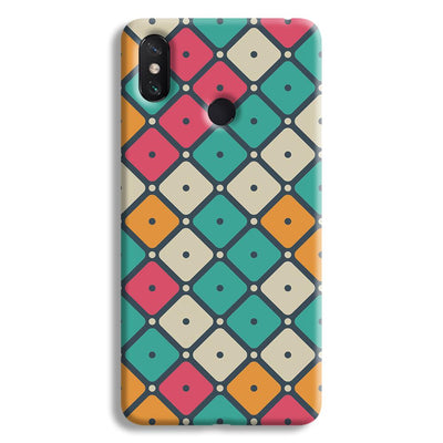 Colorful Tiles with Dot Mi Max 3 Case