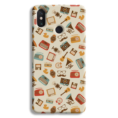 Vintage Elements Pattern Mi Max 3 Case