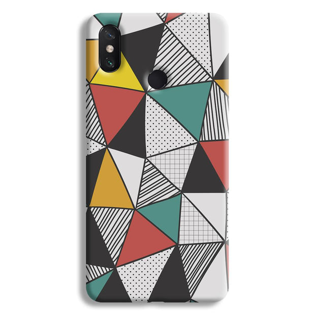 Triangle Abstract Pattern Mi Max 3 Case