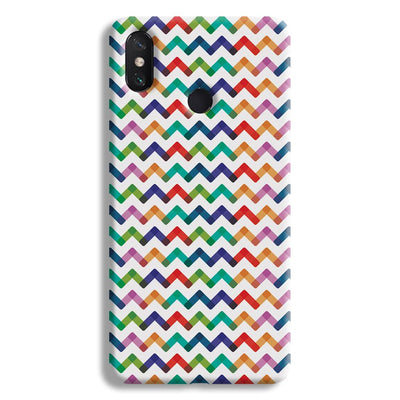 Colors Chevron Mi Max 3 Case