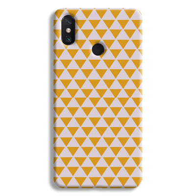 Yellow Triangle Mi Max 3 Case