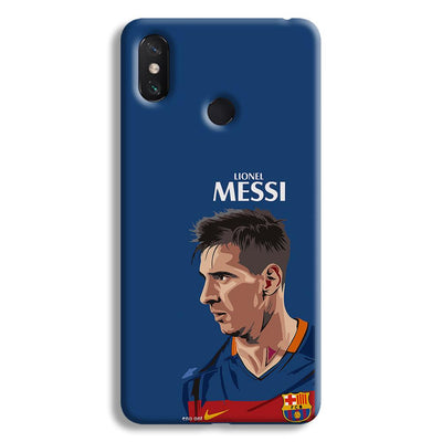 Messi Blue Mi Max 3 Case