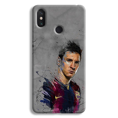 Messi Grey Mi Max 3 Case