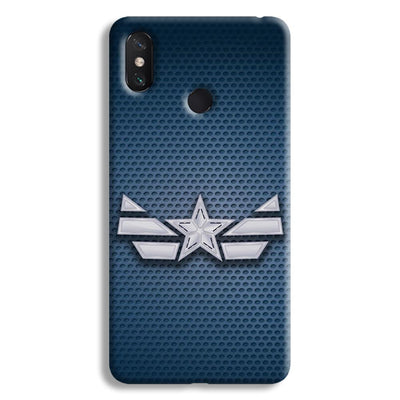 Captain America Costume Mi Max 3 Case