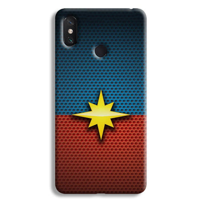 Captain Marvel Mi Max 3 Case