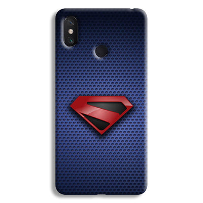 Superman Blue Mi Max 3 Case
