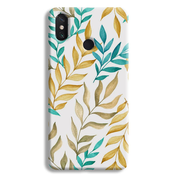 Tropical leaves  Mi Max 3 Case