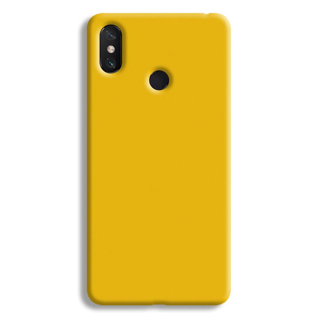 Yellow Crome Mi Max 3 Case