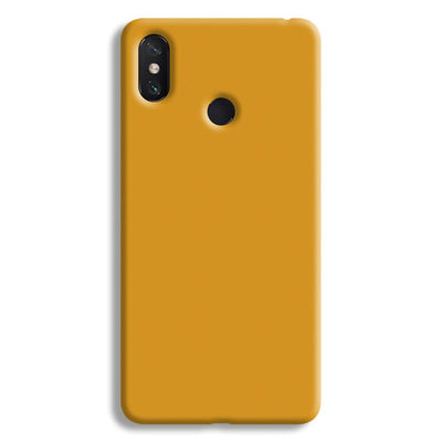 Yellow Ochre Mi Max 3 Case