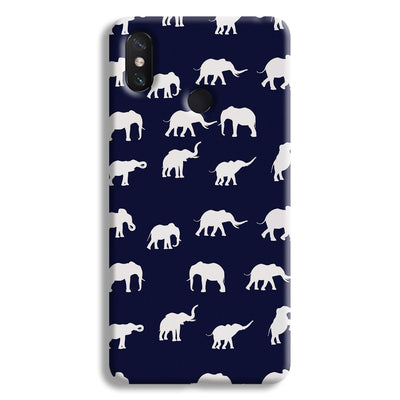 Elephant Pattern Mi Max 3 Case