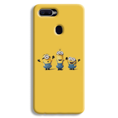 Three Minions Oppo F9 Case