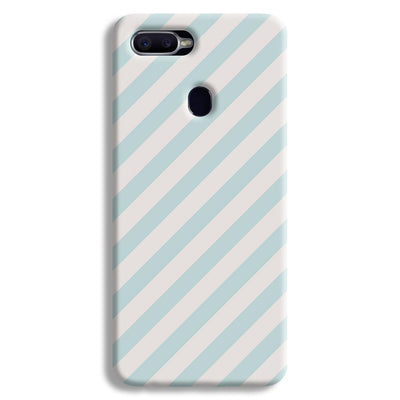 Stripe Pattern Oppo F9 Case