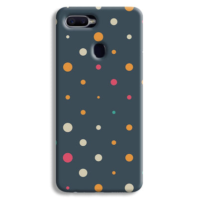 Polka Dot Pattern Oppo F9 Case