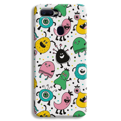 The Monsters Oppo F9 Case