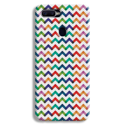 Colors Chevron Oppo F9 Case