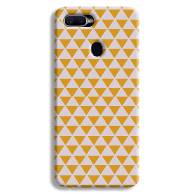 Yellow Triangle Oppo F9 Case