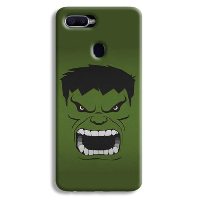 Hulk Power Oppo F9 Case