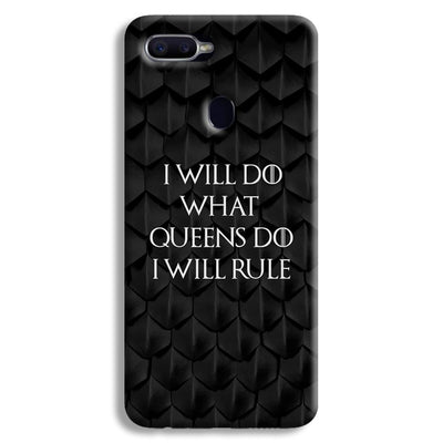 Daenerys Quotes Oppo F9 Case