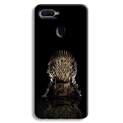 Black Iron Thrones Oppo F9 Case