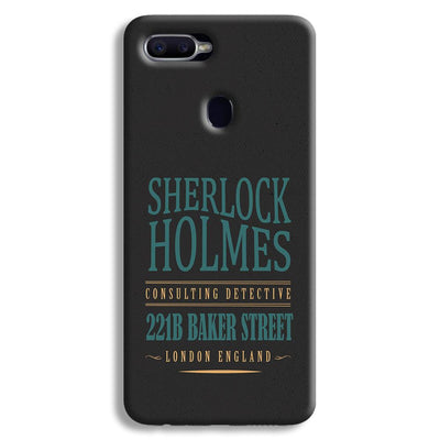 Sherlock Holmes Quote Oppo F9 Case