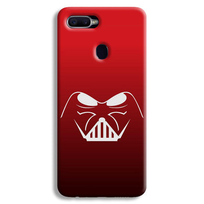 darth vader-Red Oppo F9 Case