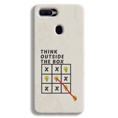 Think Outside the Box Oppo F9 Case