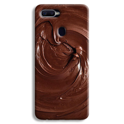 Chocolate Oppo F9 Case