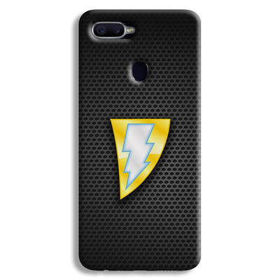 Black Adam Oppo F9 Case