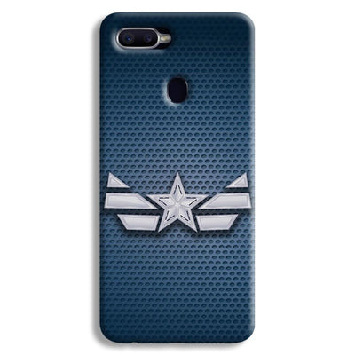 Captain America Costume Oppo F9 Case
