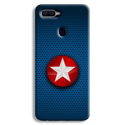 Captain America Side Star Oppo F9 Case