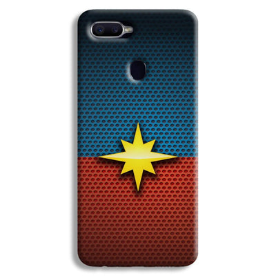 Captain Marvel Oppo F9 Case