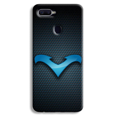 Nightwing Blue Oppo F9 Case