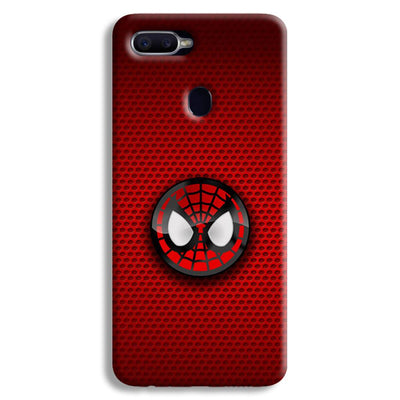 Spider Man Logo Oppo F9 Case