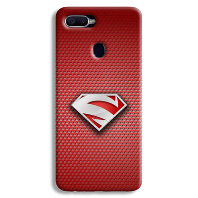 Superman Red Oppo F9 Case