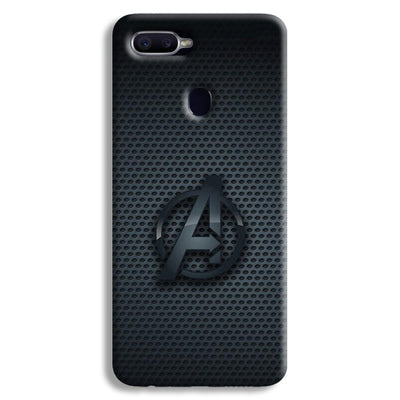 Avenger Grey Oppo F9 Case