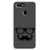 Cute mustache Gray Oppo F9 Case