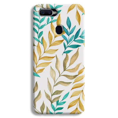 Tropical leaves  Oppo F9 Case
