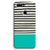 Aqua Stripes Oppo F9 Case