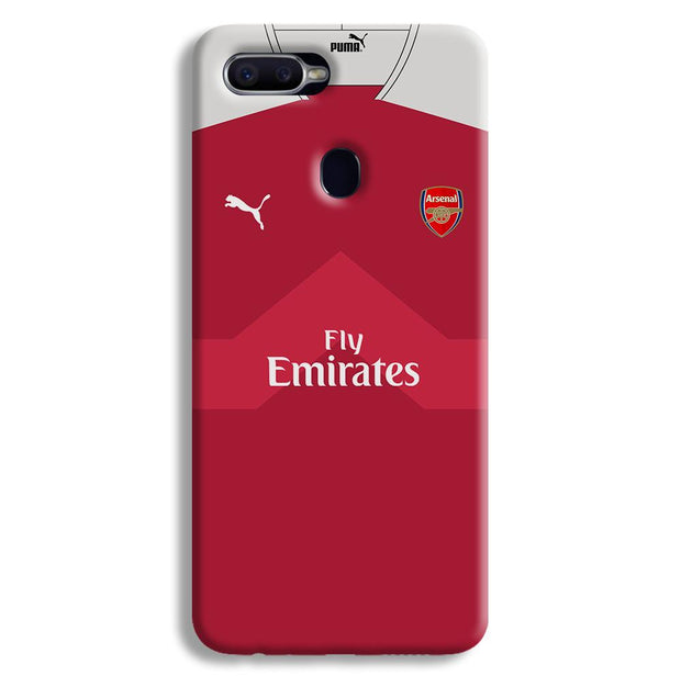 Arsenal F.C. Jersey Oppo F9 Case