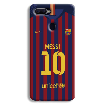 Messi (FC Barcelona) Jersey Oppo F9 Case