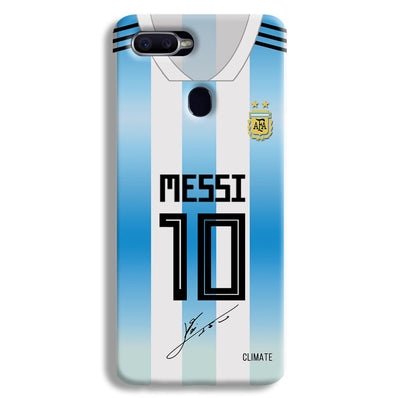 Messi Jersey Oppo F9 Case