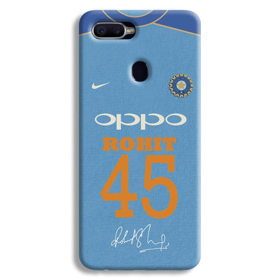 Rohit Sharma Jersey Oppo F9 Case