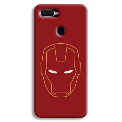 Iron Man Oppo F9 Case