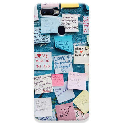 Love Note Oppo F9 Case