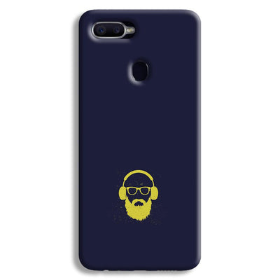Bearded Man Oppo F9 Case
