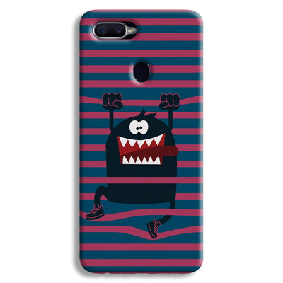 Laughing Monster Oppo F9 Case