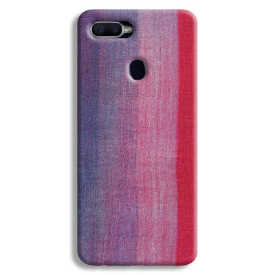 Multicolor Stripes Oppo F9 Case