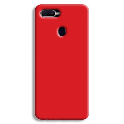 Bright Red Oppo F9 Case